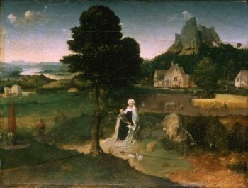 Rest on the Flight into Egypt | Workshop of Joachim Patinir | oil painting