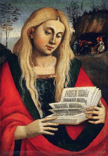 Saint Mary Magdalene | Workshop of Luca Signorelli | oil painting