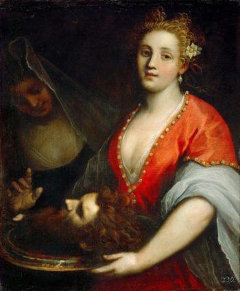 Salome with the Head of Saint John the Baptist | Jacopo Palma il giovane | oil painting