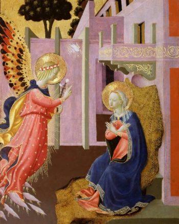 Annunciation | Zanobi Strozzi (Zanobi di Benedetto di Caroccio degli Strozzi) | oil painting