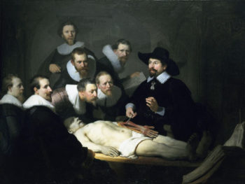 The Anatomy lesson of Dr Nicolaes Tulp | Rembrandt | oil painting