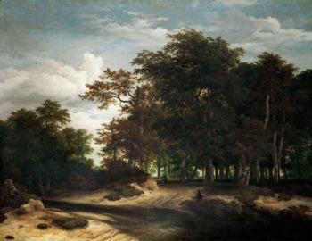 The Big Forest | Jacob van Ruisdael | oil painting