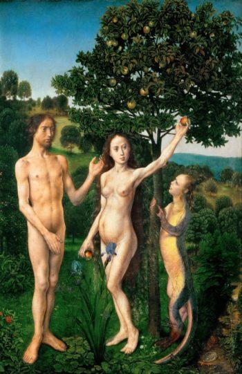The Fall | Hugo van der Goes | oil painting