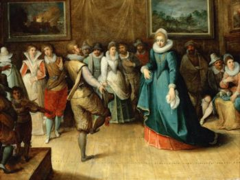 A Dancing Party | Hieronymus Francken II | oil painting