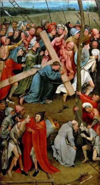 Christ Carrying the Cross | Hieronymus Bosch | oil painting