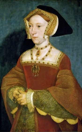 Jane Seymour third wife of King Henry VIII of England | Hans Holbein the Younger | oil painting