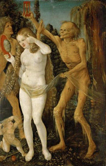 Three Ages of Woman and Death | Hans Baldung | oil painting