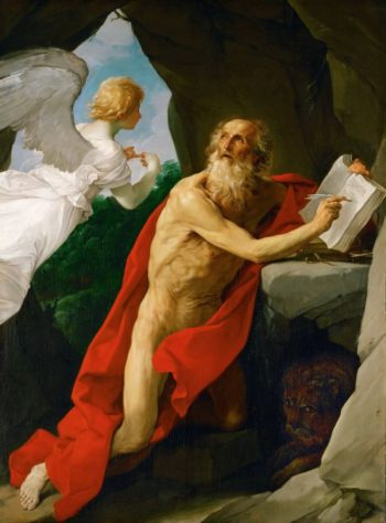 Saint Jerome | Guido Reni | oil painting