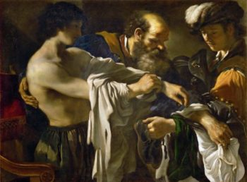 Return of the Prodigal Son | Guercino | oil painting