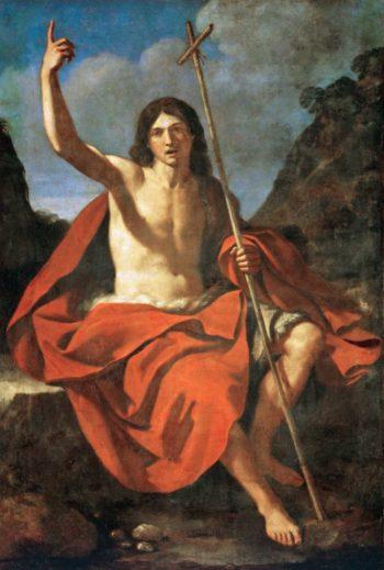 John the Baptist | Guercino | oil painting