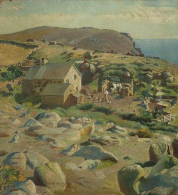 The Little Farm | Harold Harvey | oil painting