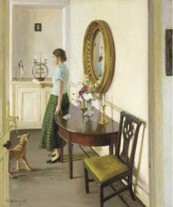 The Letter | Harold Harvey | oil painting