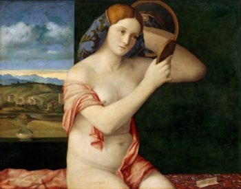 Nude with Mirror | Giovanni Bellini | oil painting