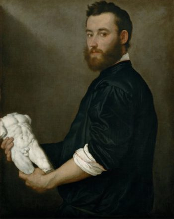 The Sculptor Alessandro Vittoria | Giovanni Battista Moroni | oil painting