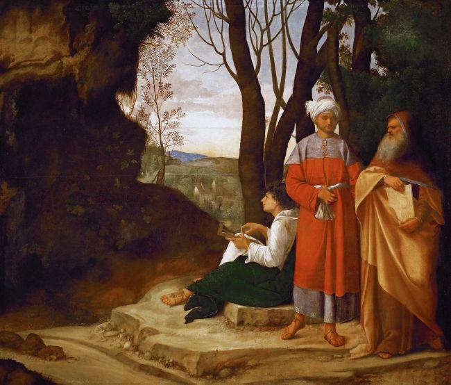 Three Philosophers | Giorgione | oil painting