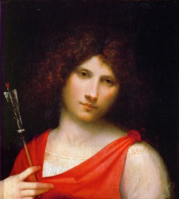 The Boy with the Arrow | Giorgione | oil painting
