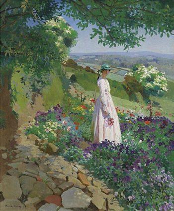 Summer | Harold Harvey | oil painting
