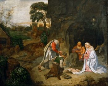 The Adoration of the Shepherds | Giorgione | oil painting