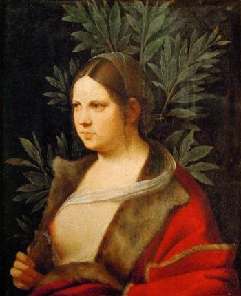 Portrait of a Young Woman -Laura | Giorgione | oil painting