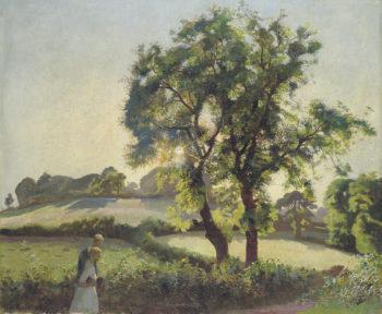 Summer Evening | Harold Harvey | oil painting
