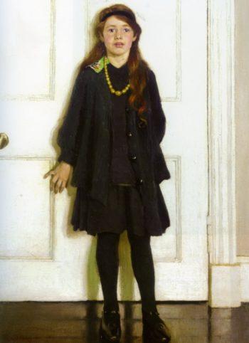 Shut the Door | Harold Harvey | oil painting