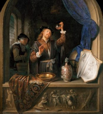 The Physician | Gerrit Dou | oil painting