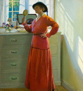 Reflections | Harold Harvey | oil painting