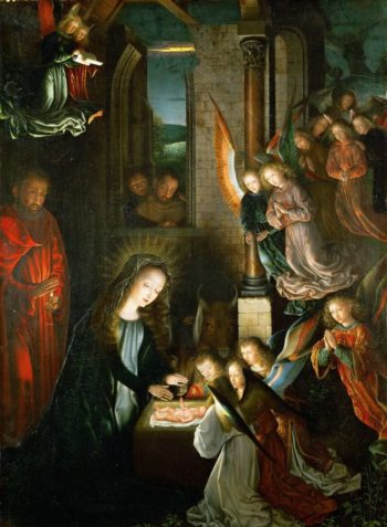Nativity | Gerard David | oil painting