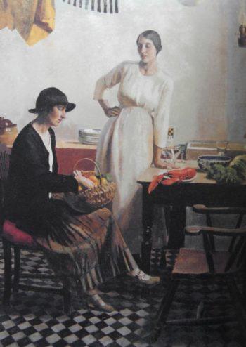 My Kitchen | Harold Harvey | oil painting