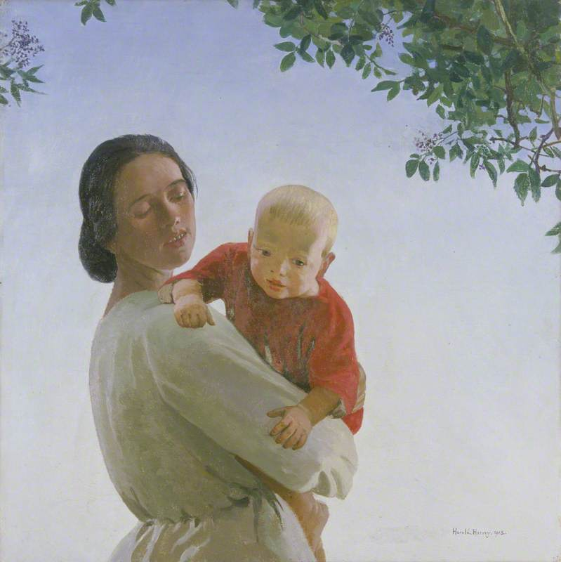 Mother and Child | Harold Harvey | oil painting
