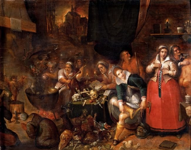 Witches Sabbath | Frans Francken II | oil painting