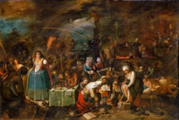 Witches Assembly | Frans Francken II | oil painting