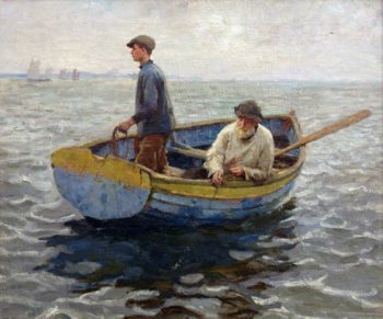 In the Whiting Ground | Harold Harvey | oil painting