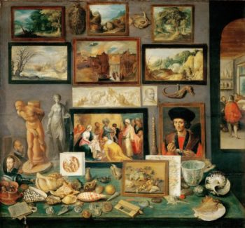An Art and Curio Collection | Frans Francken II | oil painting