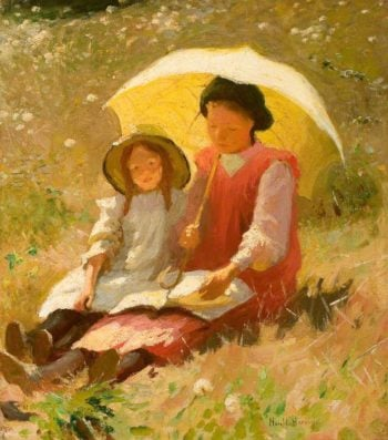 Holiday | Harold Harvey | oil painting