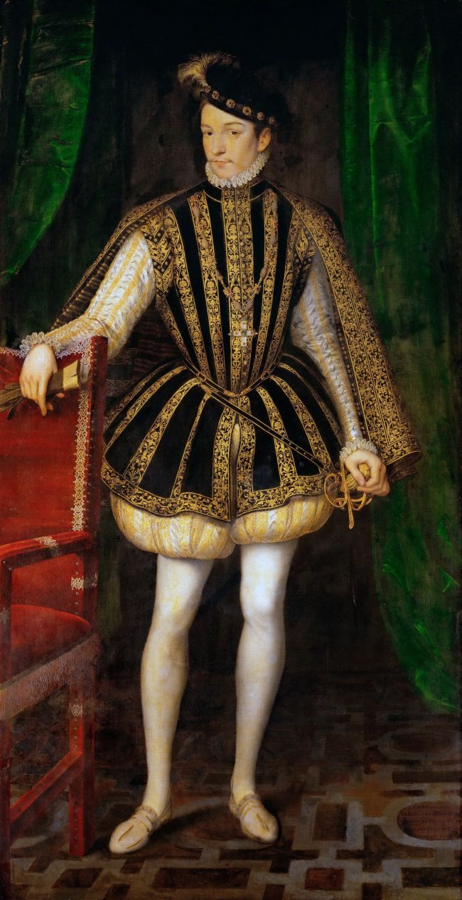 Charles IX of France | Francois Clouet | oil painting