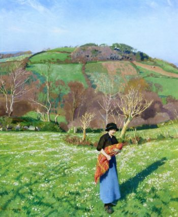 Early Spring | Harold Harvey | oil painting