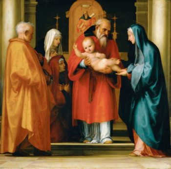 Presentation of Christ in the Temple | Fra Bartolomeo | oil painting