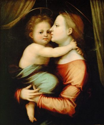 Madonna and Child | Fra Bartolomeo | oil painting