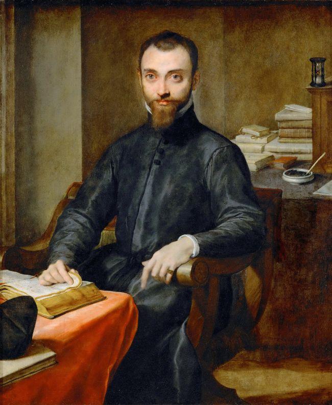Monsignore Giuliano della Rovere -1559-1621 | Federico Barocci | oil painting