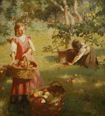 Aplles | Harold Harvey | oil painting