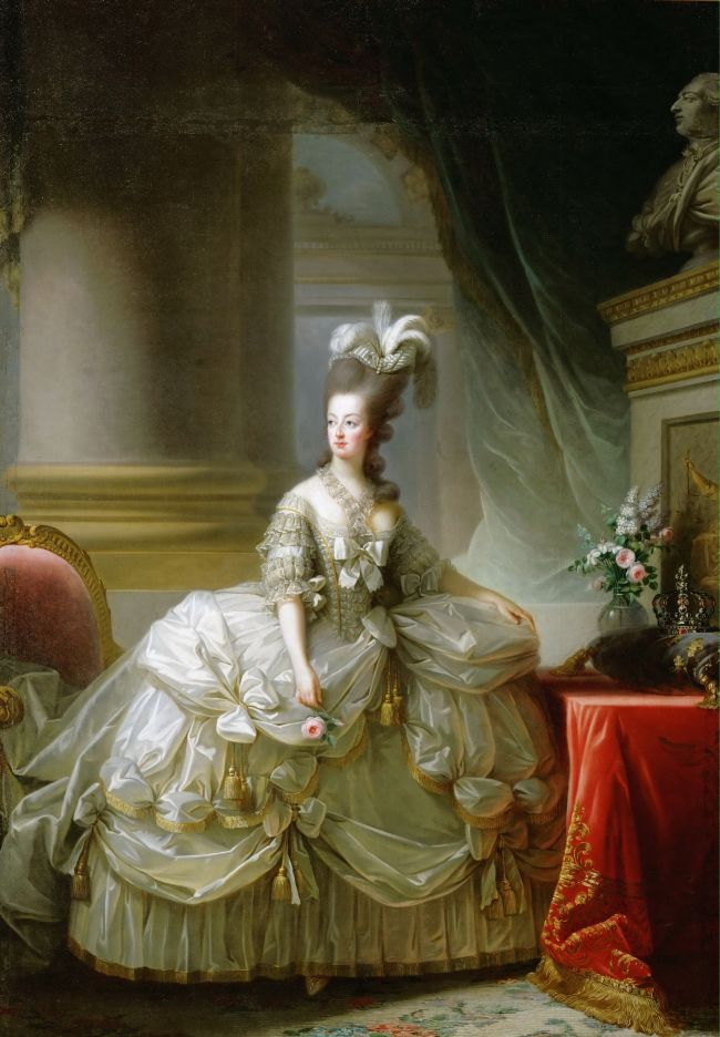 Archduchess Marie Antoinette Queen of France | Elisabeth Louise Vigee-LeBrun | oil painting