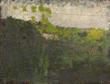 Landscape Study | Giuseppe de Nittis | oil painting