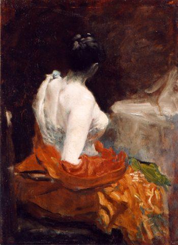 Before the Ball | Giuseppe de Nittis | oil painting