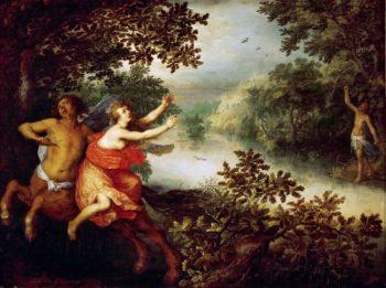 Hercules Dejaneira and the Centaur Nessus | David Vinckboons | oil painting