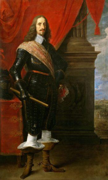Archduke Leopold Wilhelm with the Siege of Gravelingen   David Teniers II   oil painting