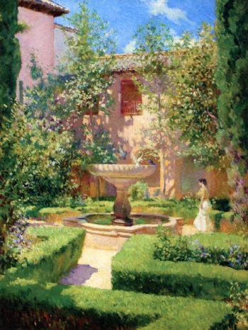 Granada | Francis Luis Mora | oil painting