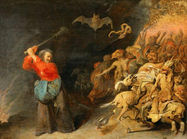 Dulle Griet | David Ryckaert III | oil painting