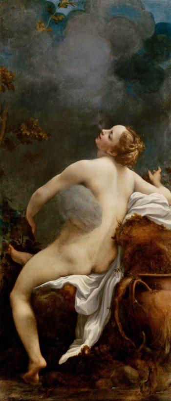 Jupiter and Io | Correggio | oil painting