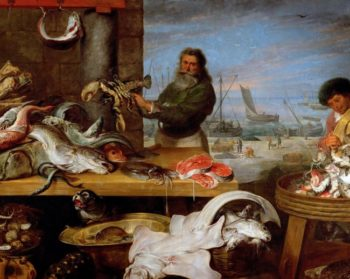 Fish Market | Cornelis de Vos | oil painting